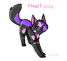 Heartvoice (warriors OC) by SoulCats