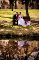 Wedding Day Reflection by eyenoticed