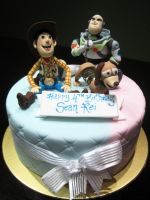 Toy Story Cake by Sliceofcake