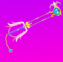 Divine Angel  (Cadence Keyblade) by aniamalman