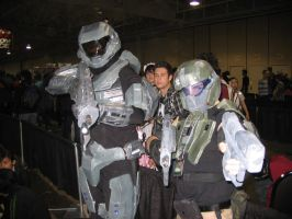 Noble 6 and ODST at AN by TeamGalactic-Mercury