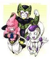 The Mean Team by dragonballdeviants