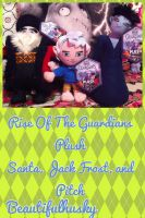 Rise Of The Guardians Plush by BeautifulHusky
