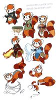 Pabu Bending by ditto9