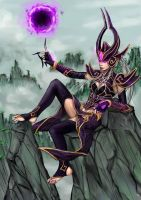 Syndra-Black Sun by Marduk44