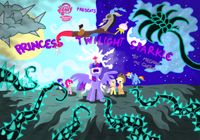 Princess Twilight Sparkle title card by seriousdog