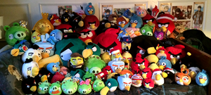 ANGRY BIRDS Plush Collection 2015 UPDATE by KasaraWolf