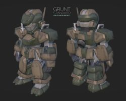 UN Grunt by darthrith