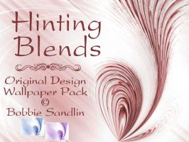 HINTING BLENDS Wallpaper Pack by Runs-With-Triangles
