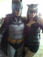Batman and Catwoman by Jasong72483