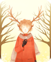 Deer boy by Roadccan