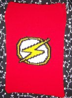 The Flash Laptop Cover by harelquin-demon