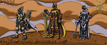 Keyblade Warriors Sprite Group by KingdomTriforce
