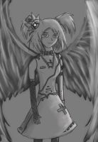 Angel wing by AtomicWarpin