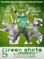 Go Green Shirts by hamzahamo