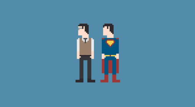 Man of Steel 8-Bit by Al-Pennyworth