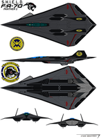 S.H.I.E.L.D. FA-70 Panther 2 by bagera3005