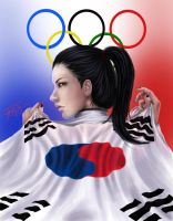 Go South Korea! 2012 London Olympics by renjinx