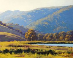Hilly Lithgow , Australia by artsaus