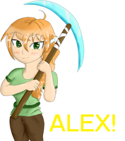 New-skin- Minecraft (Alex) by W--rachet554