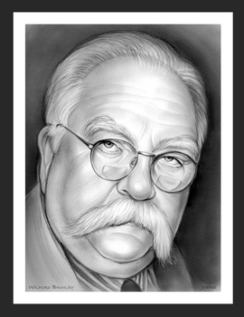 Wilford Brimley by gregchapin