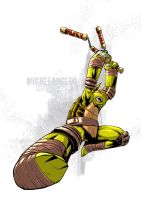 Tmnt Mike by deemonproductions