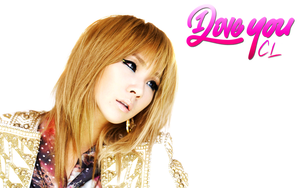 2NE1 CL I LOVE YOU WALLPAPER by Awesmatasticaly-Cool