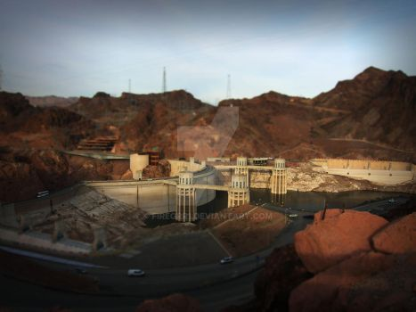 Hoover Dam by firegrr1