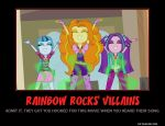 Motivator: MLP: EQ RR's Villains by SilverZeo