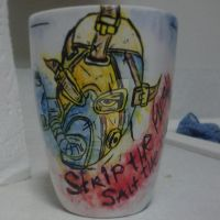 Krieg the Psycho Custom Mug by xZ0mbieKitten
