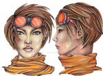Character Concepts - Vanessa by Shades-ofGray