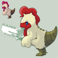 Kentucky fried Clukatrice by G-FauxPokemon