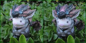 Rathalos Piggie papercraft (3D View) by BRSpidey