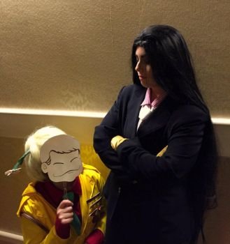 You get on my nerves. by Come-On-Cosplay