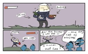 The Witcher 3, doodles 207 by Ayej