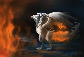 Reshiram by EscapingValhalla