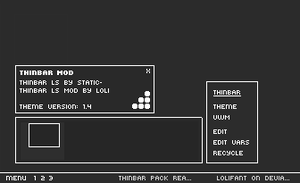 Thinbar LS Themes Pack by lolifant