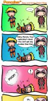 Naruto Comic Strip: Pancakes by paper-sting