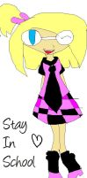 Lilya-Chan says:Stay in school by EverySoulsRequest2