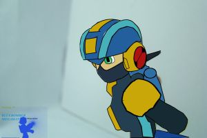 Animated Mega Man EXE by bluebombermegaman