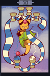 PKMNC - Six of Cups by TamarinFrog