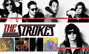 The Strokes Background by pandapie578
