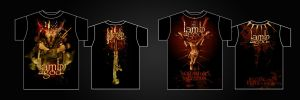 Lamb of God - Shirt Designs by damnengine