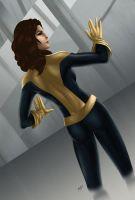 Shadowcat -Infiltration- by KGanArt