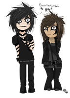 Me and Jinxx by xXDG-Twist360xX