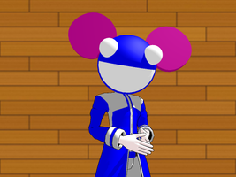 Deadmau5 DL -MMD- by Likonan