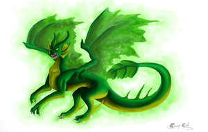 Green hunter by Crazy-Cat009