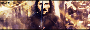 Aragorn -Two Towers Signature- by Y2Joker