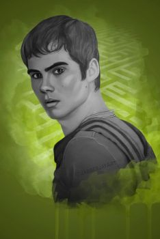 Tha Maze Runner - Thomas by JabberjayArt