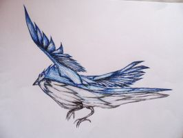 Blue Bird by JaylMyers
